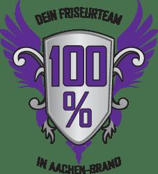 Logo von 100% Dein Friseurteam